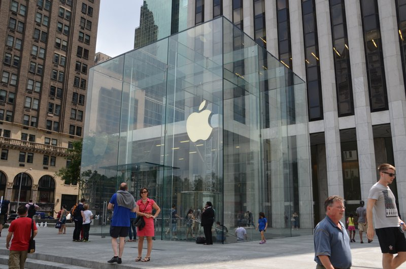 The Apple Store in New York